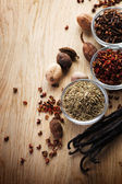 Spice Border — Stock Photo