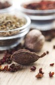 Spices. Cardamon — Stockfoto