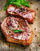 Steak — Stockfoto