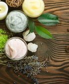 Natural Spa Cosmetics — Stock Photo
