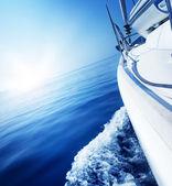 Reizen .luxury jacht — Stockfoto