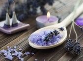 Aromatherapy. Lavender Spa — Stock Photo
