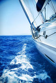 Luxury Yacht. Travel — Stock Photo