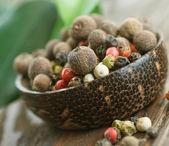 Spices Closeup. Selective Focus — Stock Photo