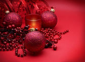 Christmas Red Decoration — Stock Photo
