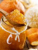Homemade orange Jam — Stock Photo