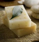 Sabonete ervas artesanal de spa — Foto Stock