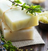 Natural Handmade Soap. Spa — Stock Photo