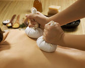 Massaggio thai spa — Foto Stock