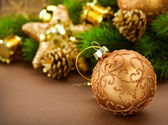 Christmas Vintage Decorations — Stock Photo