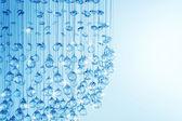 Crystal Modern Chandelier — Stock Photo