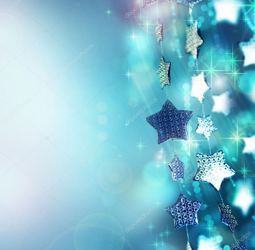 Abstract Christmas background. Holiday abstract background  Stock Photo #10677839