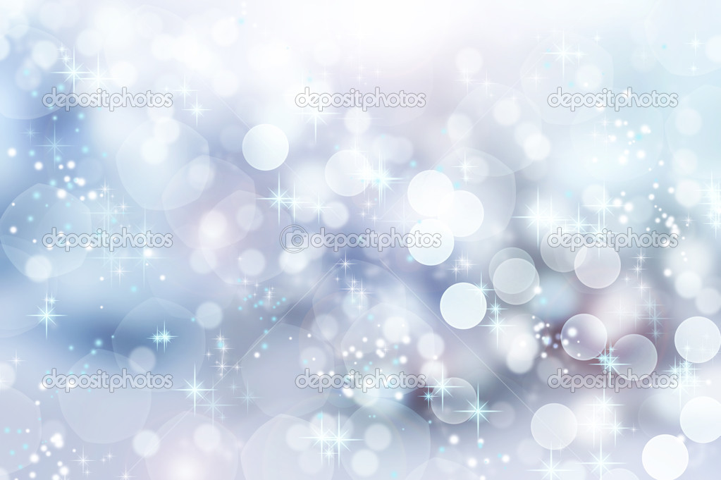 Abstract Winter background. Christmas abstract bokeh — Stock Photo #10678714