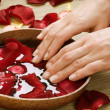 Spa Procedures for Hands. Luxury Manicure concept — Stock Photo