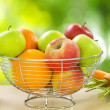 Healthy Food. Organic Fruits and Vegetables - Stock Photo