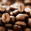 Coffee Close-up. Selective Focus - Stock Photo