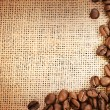 Coffee Border — Stock Photo