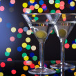 Martini Cocktail With Olive — Stock Photo