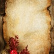 Royalty-Free Stock Photo: Christmas Greeting Card. Vintage Styled