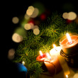 Kerstverlichting — Stockfoto