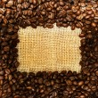 Coffee Frame — Stock Photo