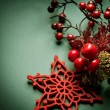 Christmas Vintage decoration — Stock Photo