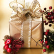 Christmas Gift box — Stock Photo #10680787