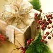 Stock Photo: Christmas and New Year Gift