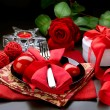Valentine Romantic Dinner — Stock Photo #10680798