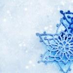 zimní sněhová pozadí. sněhové vločky — Stock fotografie