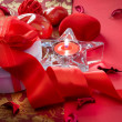 Royalty-Free Stock Photo: Valentine&#039;s Day Card Design. Gift