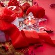 Valentine's Day Card Design. Gift - Stock fotografie