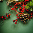 Christmas background — ストック写真 #10681034