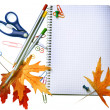 Royalty-Free Stock Photo: Back To School Concept Design. Stationery