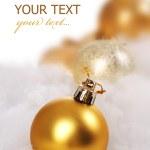 Christmas Ball. Selective Focus — Stock Photo