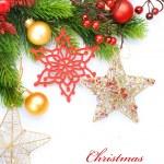 Christmas Decoration over white — Stock Photo #10681273