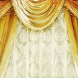 Luxury Velvet Curtain - Foto Stock