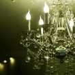 Stock Photo: Classic Crystals Chandelier