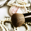 Stock Photo: Makeup accessories