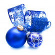Christmas Ball over white — Stock Photo