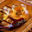 Tea .Traditional Chinese Tea Ceremony - Stock Photo