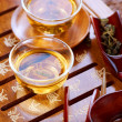 Tea .Traditional Chinese Tea Ceremony — Stock Photo #10682033
