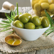 Olives And Olive Oil - Stock fotografie