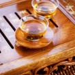 Tea .Traditional Chinese Tea Ceremony — Stock Photo #10682069