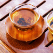 Chinese Tea .Traditional Ceremony — Stock Photo