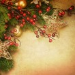 Royalty-Free Stock Photo: Christmas Retro Card