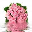Fresh Roses Bouquet — Stock Photo #10682596