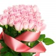 Pink Rose Bunch — Stock Photo