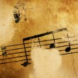 Vintage Music Background — Foto de Stock