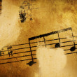 Vintage Music Background — Stock Photo